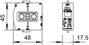 V20-C 0-280 LIMITATORE TIPO 2 CARTUCCIA DI
