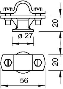 113 Z-16 SUPPORTO PER ASTA